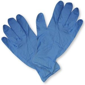 4 mL Blue Medical Grade Nitrile Disposable Gloves